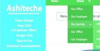 Css ashiteche menu