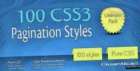 Css3 100 pagination styles