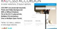 Css3 rad accordion