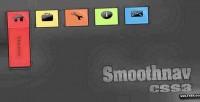 Css3 smoothnav transition with menus