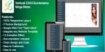 Css3 vertical menu mega ecommerce