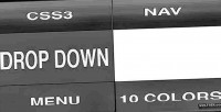 Drop css3 down menu