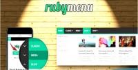 Mega ruby menu