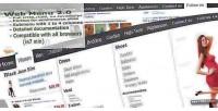 Menu web ecommerce 2.0