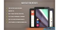 Menus navigation css