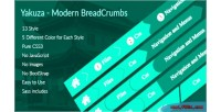 Modern yakuza breadcrumbs