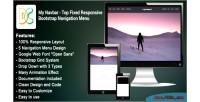 Navbar top fixed responsive bar navigation bootstrap navbar