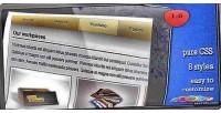 Navigation css menu