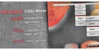 Navigation css3 menu