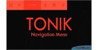 Navigation tonik menu