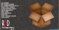 Package rad menu