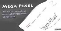 Pixel mega responsive menu mega bootstrap
