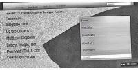 Responsive navbox mega menu