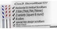 Scrollbar css3