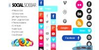 Sidebar social
