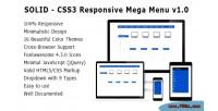 Solid css3 responsive mega 0 v1 menu