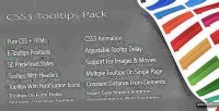 Tooltips css3 pack