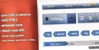 Ui css3 elements web kit