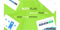 A bootplan responsive tables pricing bootstrap