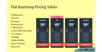 Bootstrap flat pricing tables