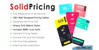 Bootstrap solidpricing pricing tables