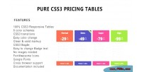 Css3 pure pricing tables