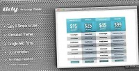 Tidy css3 pricing table flexible clean simple