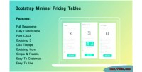 Minimal bootstrap pricing tables