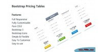 Pricing bootstrap css3 pure tables