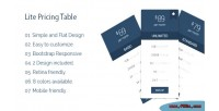 Pricing lite table