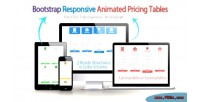 Responsive bootstrap tables pricing animated