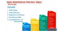 Responsive whk pricing table