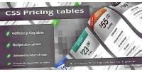 4 unique pricing tables pack 1 in