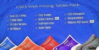 Css3 web pricing tables grids pack
