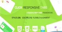 A click tabs bootstrap responsive