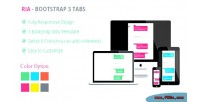 Bootstrap ria template tabs 3