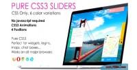 Css3 pure sliders