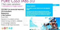 Css3 pure tabs