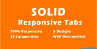 Css3 solid responsive tabs