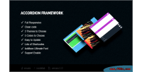 Framework accordion