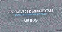 Responsive css3 tabs