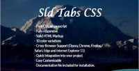 Tabs sld pure css