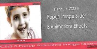 Zi css3 popup sliders image animated