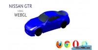Model 3d nissan gtr