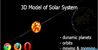 Solar 3d webgl on system