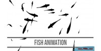 Animation fish html5 canvas