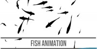 Animation fish html5 canvas