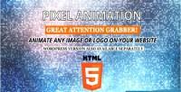Animation pixel html5