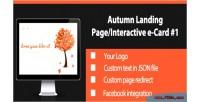 Autumn interactive landing page 1 card e autumn