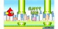 Bird floppy game canvas html5